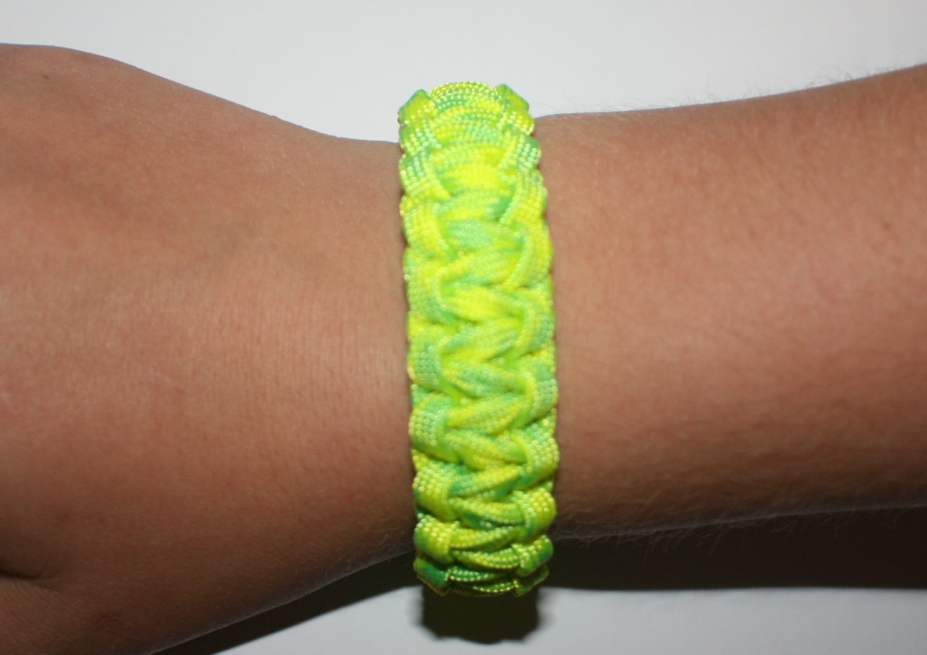 4 color paracord bracelet instructions