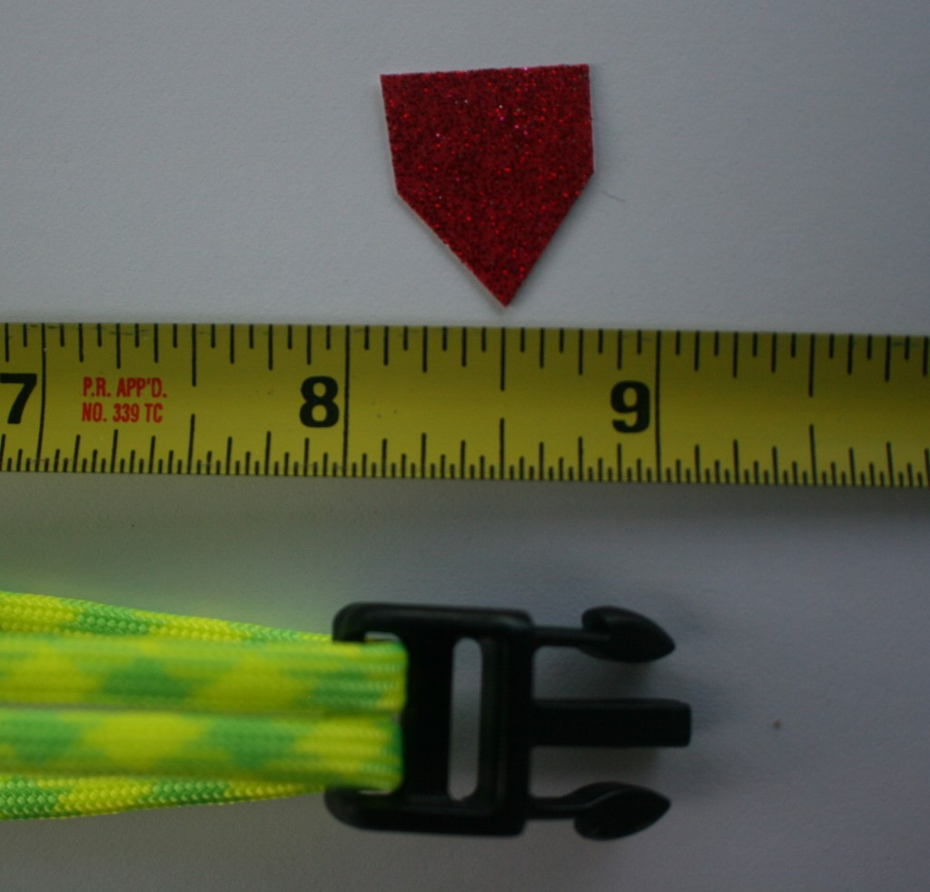 How To Make A Paracord Bracelet X Cords