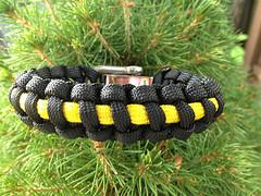 Steelers survival bracelet