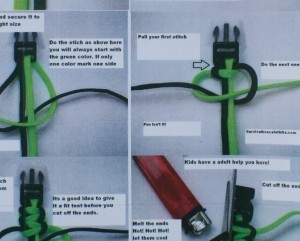 Survival Bracelet Instructions How To Make A Diy