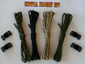 survival bracelet kit recon 40
