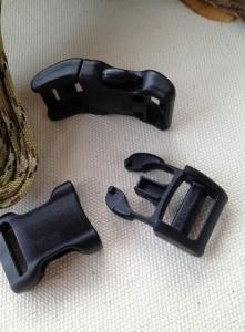 5/8 paracord bracelet buckles for making a king cobra survival bracelet