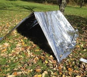 survival tent;survival shelter;paracord tent