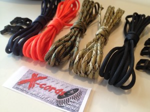 survival bracelet kit with instructions