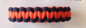Denver broncos paracord bracelet kit