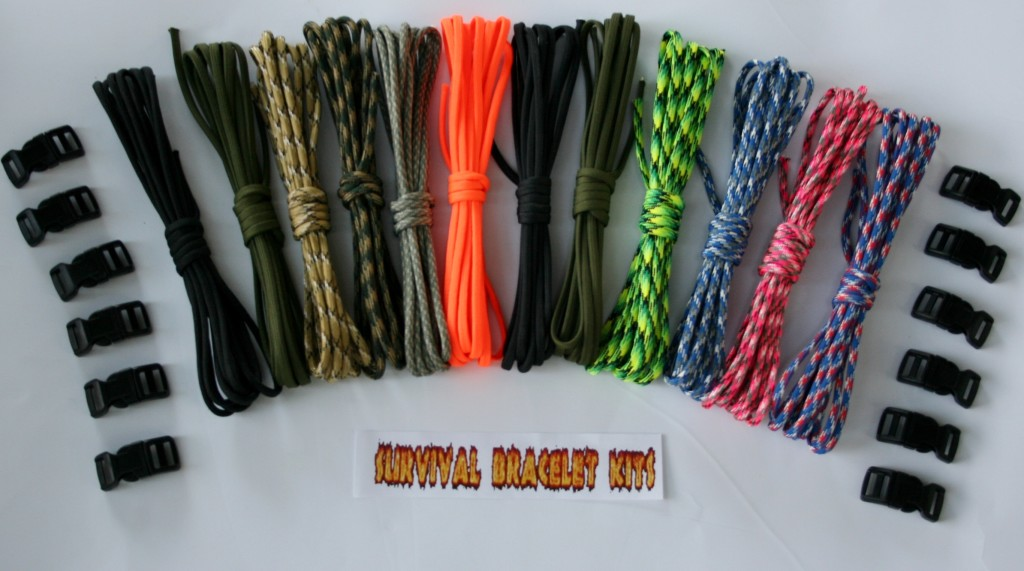 Recon 120 Survival Bracelet Kit