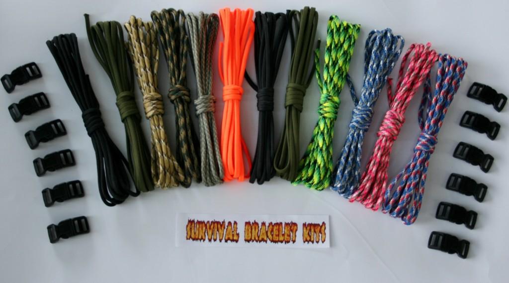 Recon 120 Survival Bracelet Kit