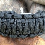 "King Cobra Survival Bracelet ""Night Stalker"""