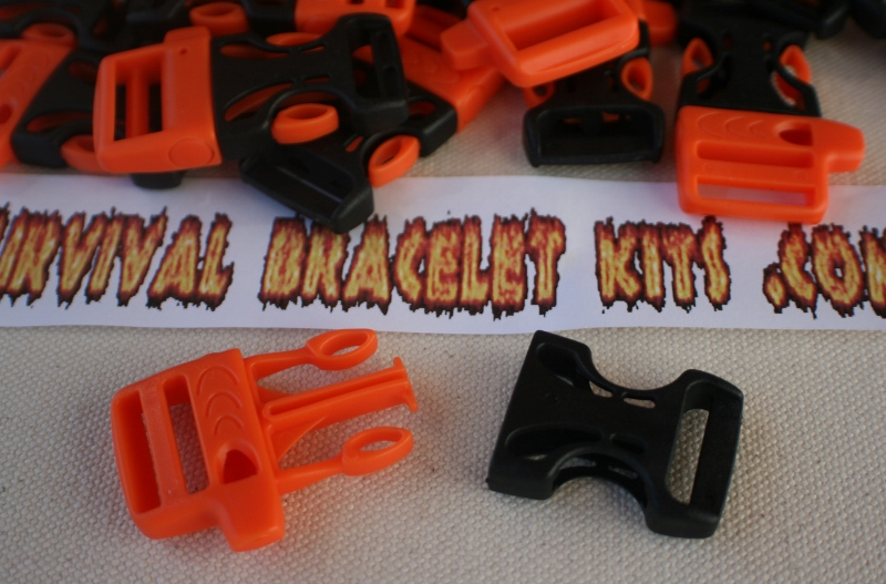 Orange Whistle Buckles