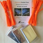 Paracord Pocket Tent Emergency Shelter Kit