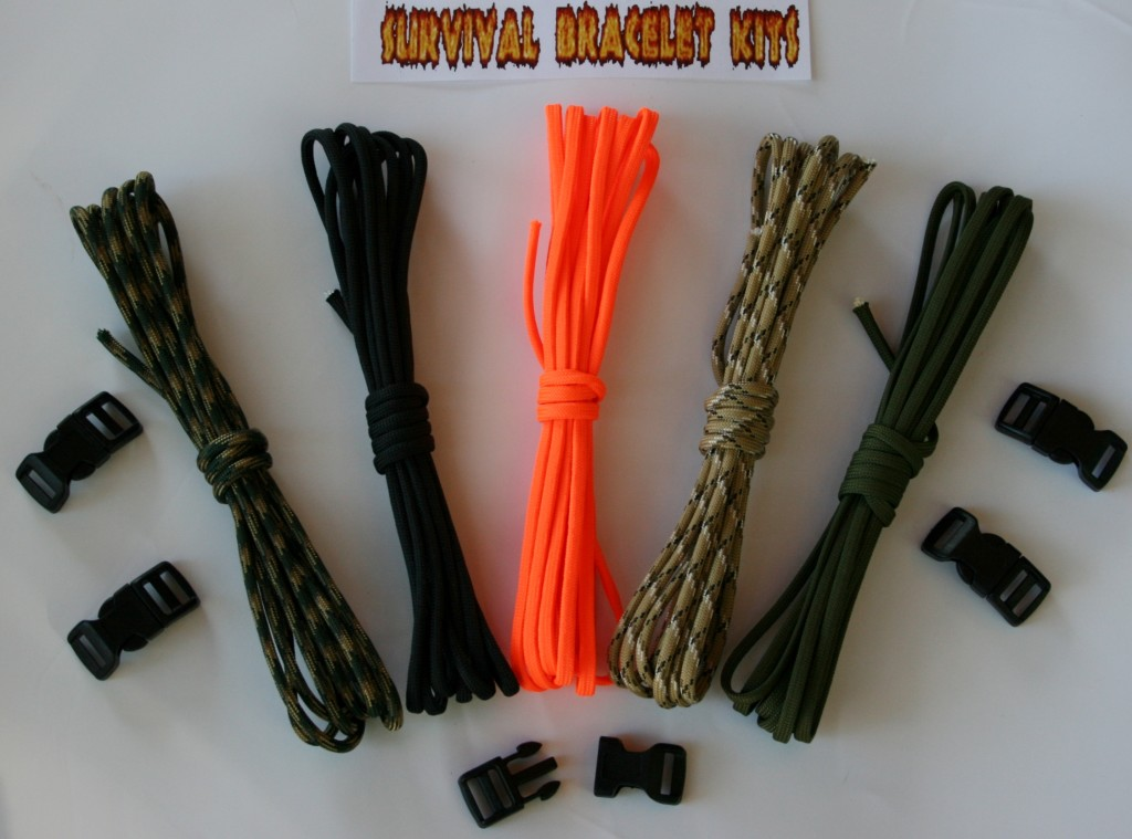 Recon 50 Survival Bracelet Kit