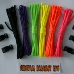 Recon Rainbow 60 paracord bracelet kit