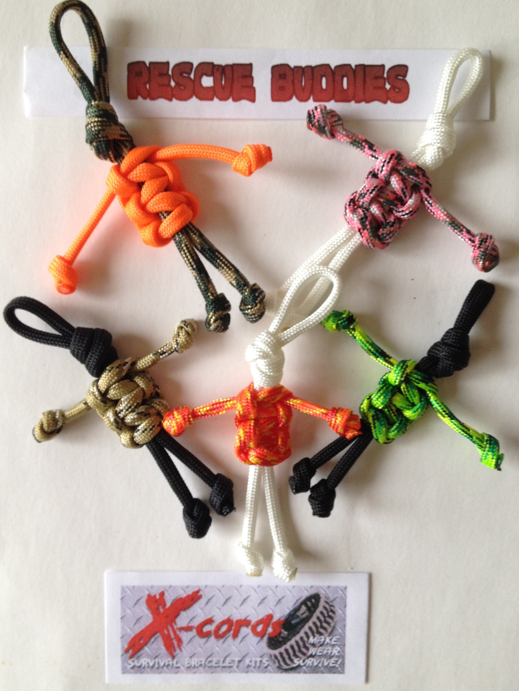 Rescue Buddies Paracord People Kit