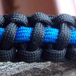 Thin Blue Line Paracord Police Bracelet (Copy)