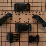 Whistle Buckles (Black Contoured)