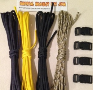 Wolverine Paracord Bracelet Kit