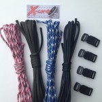 X-Cords Survival Bracelet Kit Family 4 Pack