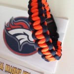 Denver Broncos Super Bowl Paracord Bracelet