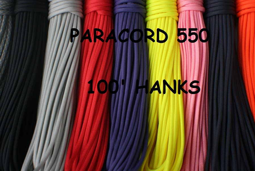 Paracord 100′ Hanks