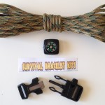 fire starter buckle kit with compass