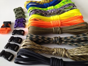 survival bracelet kit with video instructions