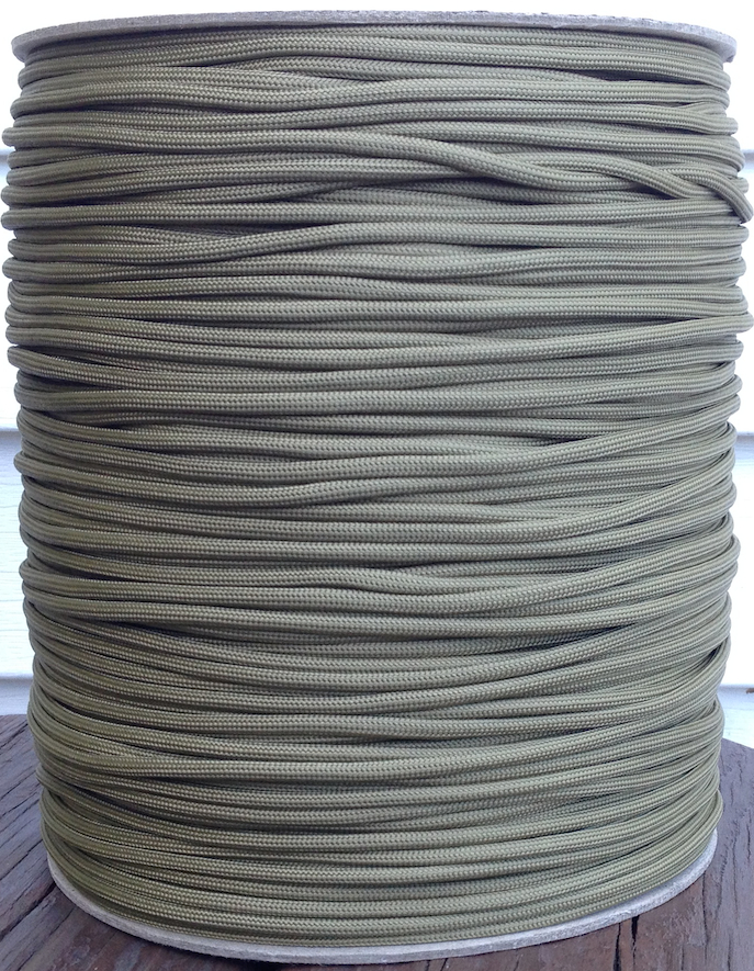 paracord 850 coyote brown 1000' spool