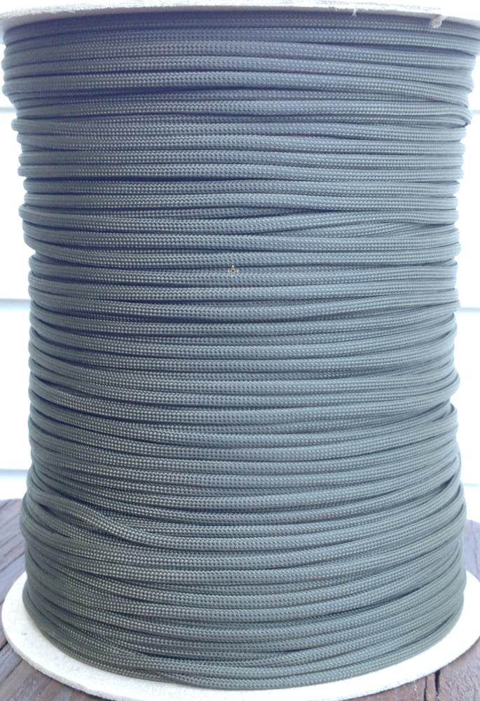 paracord 850 olive drab 1000' spool